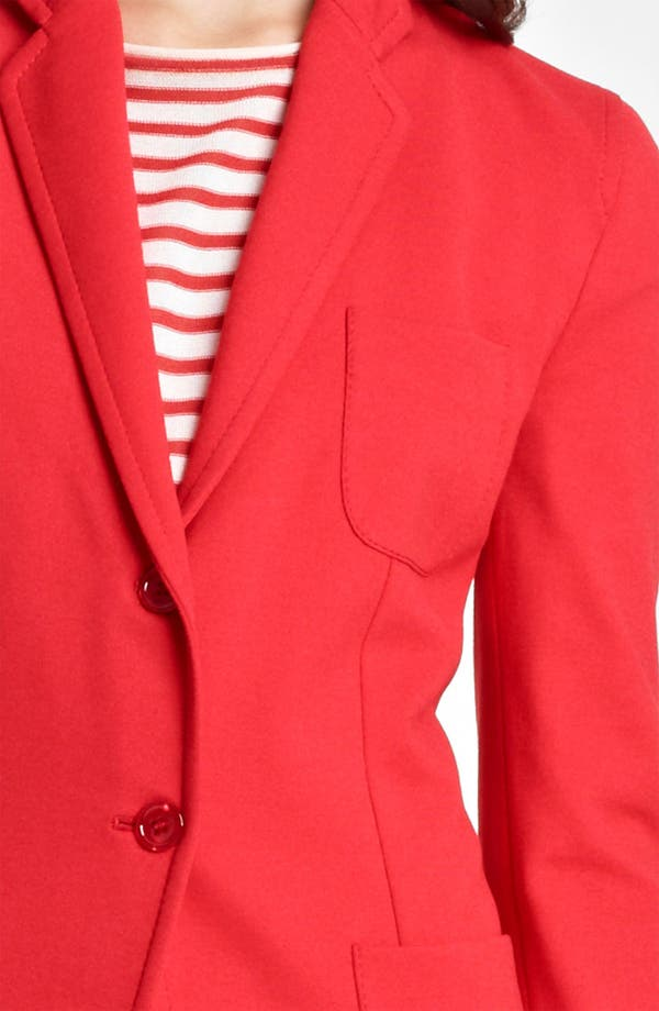 Alternate Image 5  - Armani Collezioni Two Button Jersey Jacket