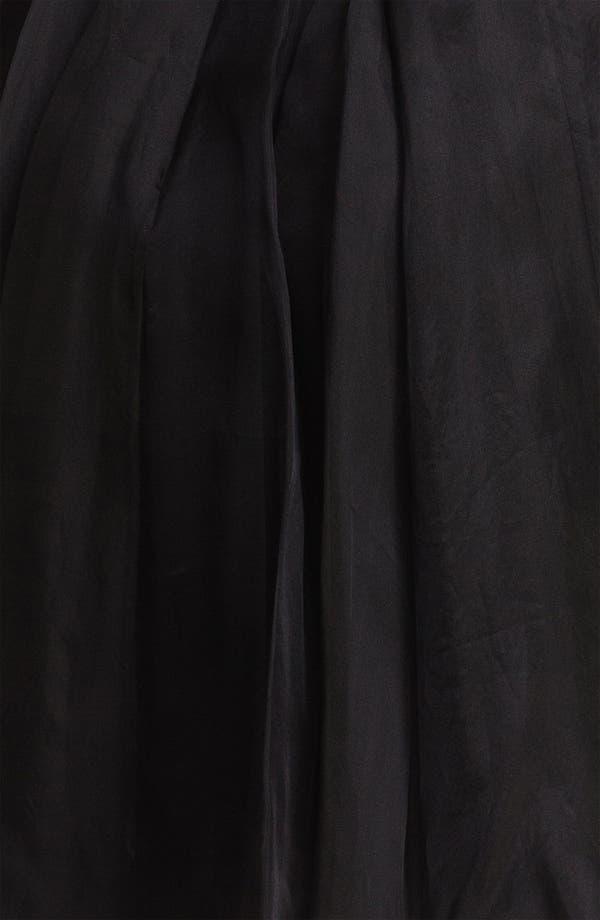Alternate Image 3  - Ted Baker London Embellished Silk Fit & Flare Dress