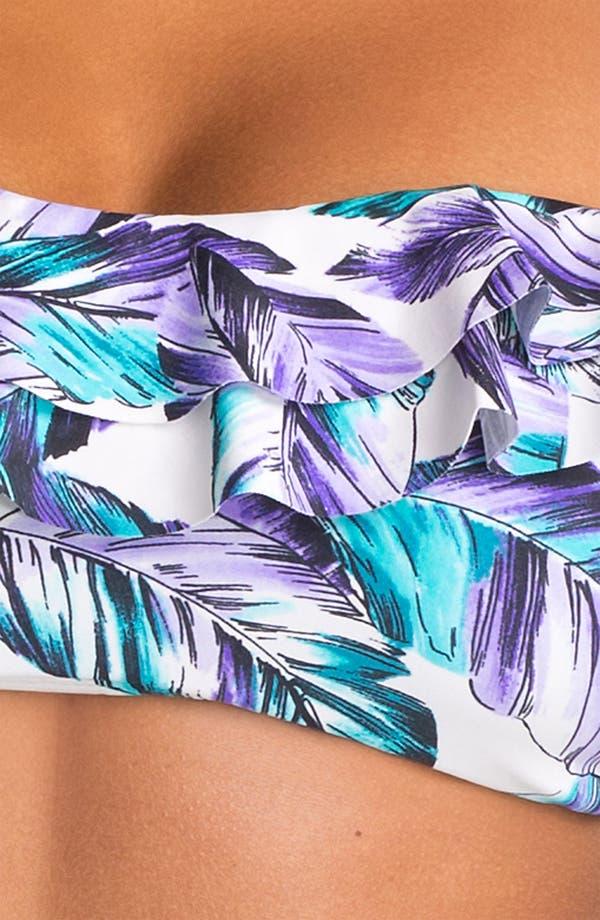 Alternate Image 3  - Eco Swim Ruffle Bandeau Bikini Top