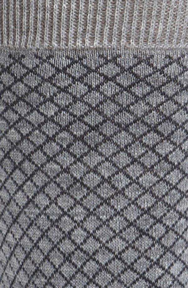 Alternate Image 2  - Ermenegildo Zegna Micro Check Socks