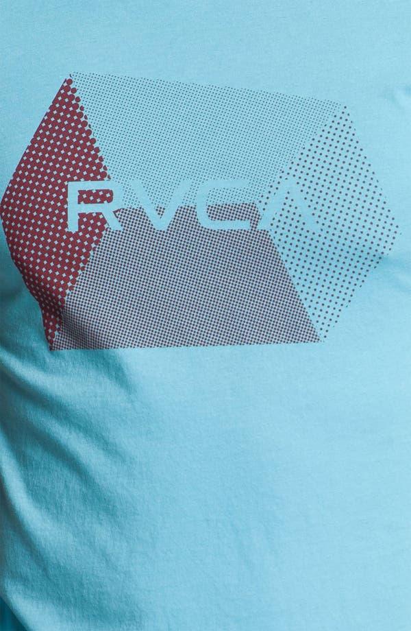 Alternate Image 3  - RVCA 'Polygon Hex' Graphic T-Shirt