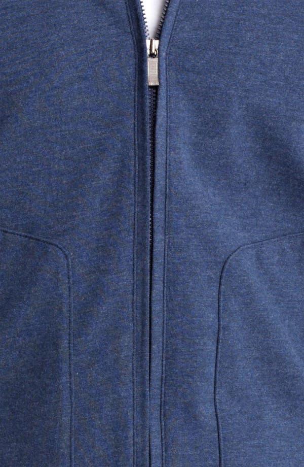 Alternate Image 3  - Zegna Sport Zip Front Sweatshirt