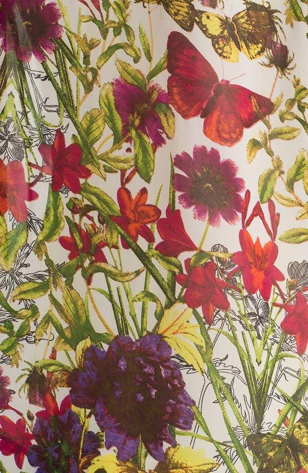 Alternate Image 3  - Bellatrix Botanical Print Chiffon Shirt
