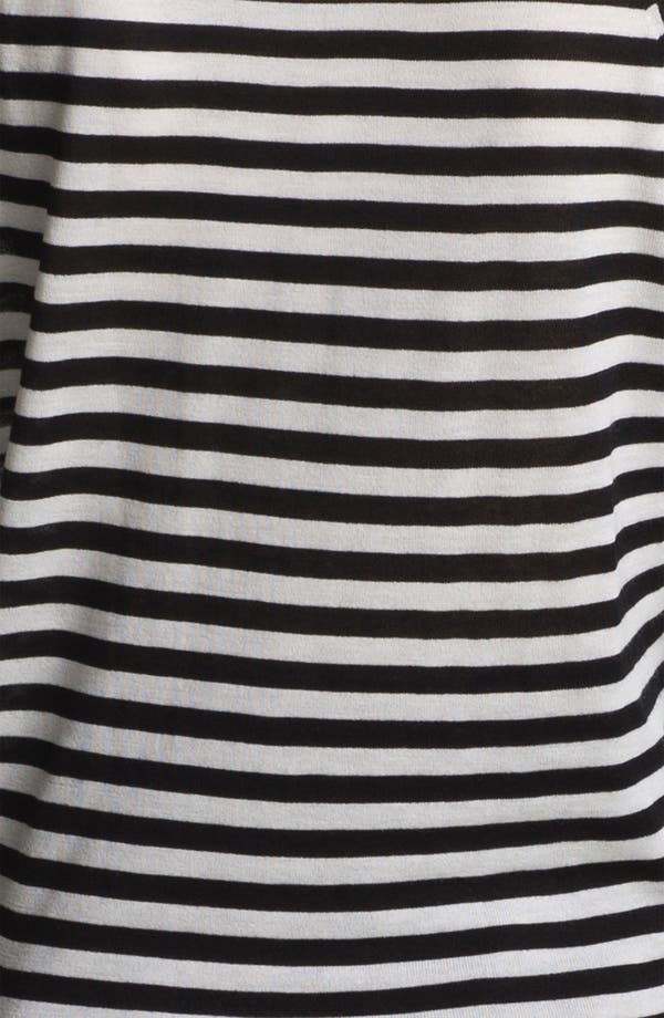 Alternate Image 5  - Miss Wu 'Sofie' Stripe Cashmere Sweater (Nordstrom Exclusive)