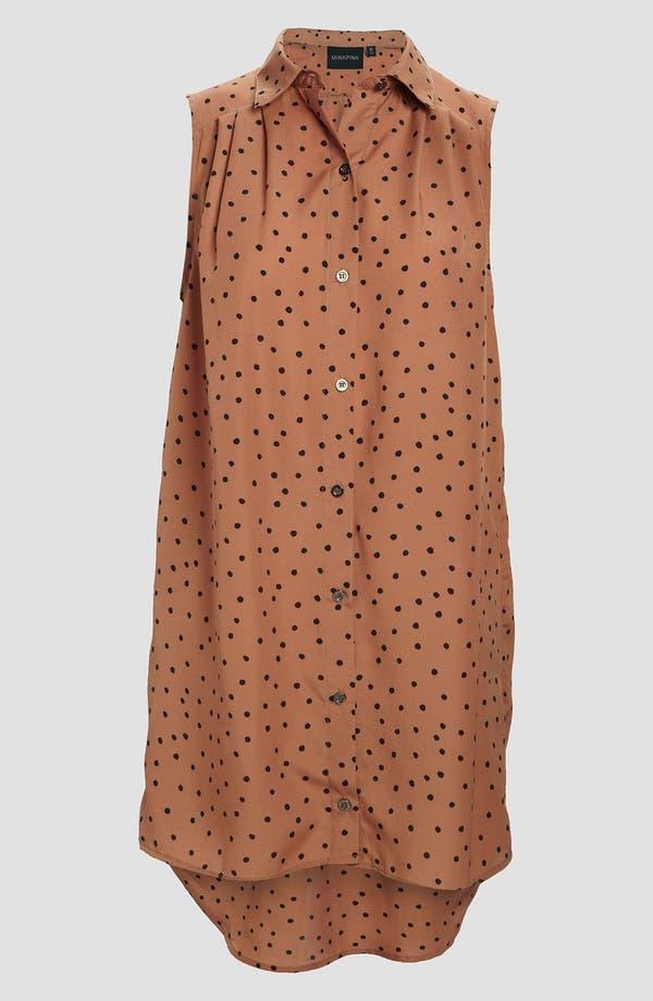 Alternate Image 1 Selected - MINKPINK 'Going Dotty' Shirt Dress