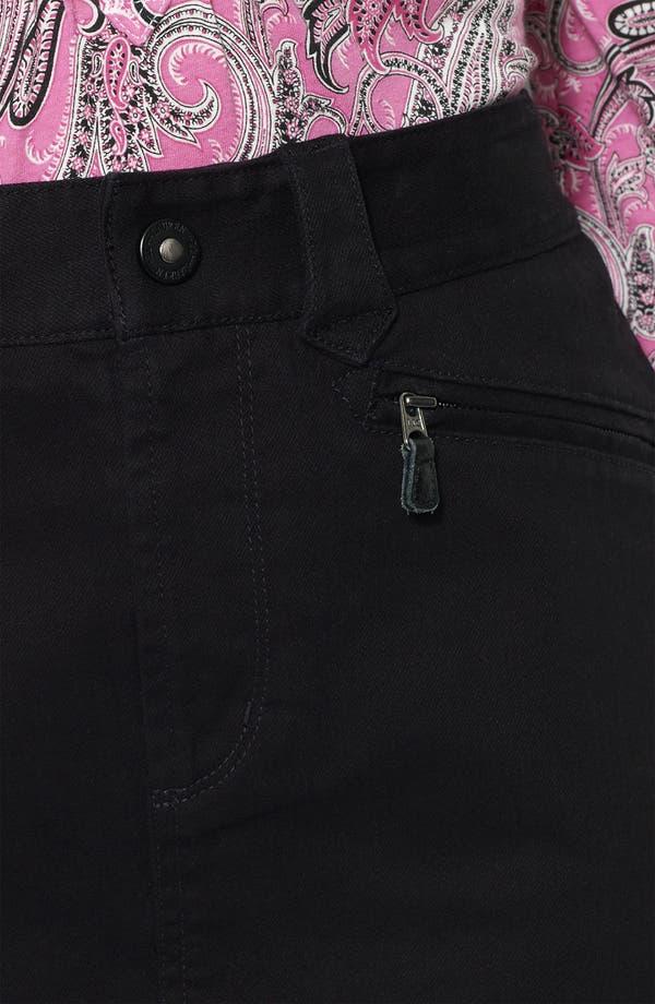 Alternate Image 3  - Lauren Ralph Lauren Denim Skirt (Plus)