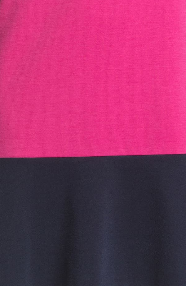 Alternate Image 3  - Donna Morgan Colorblocked Ponte Shift Dress