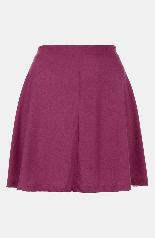 Alternate Image 1 Selected - Topshop 'Andie' Skater Skirt (Petite)