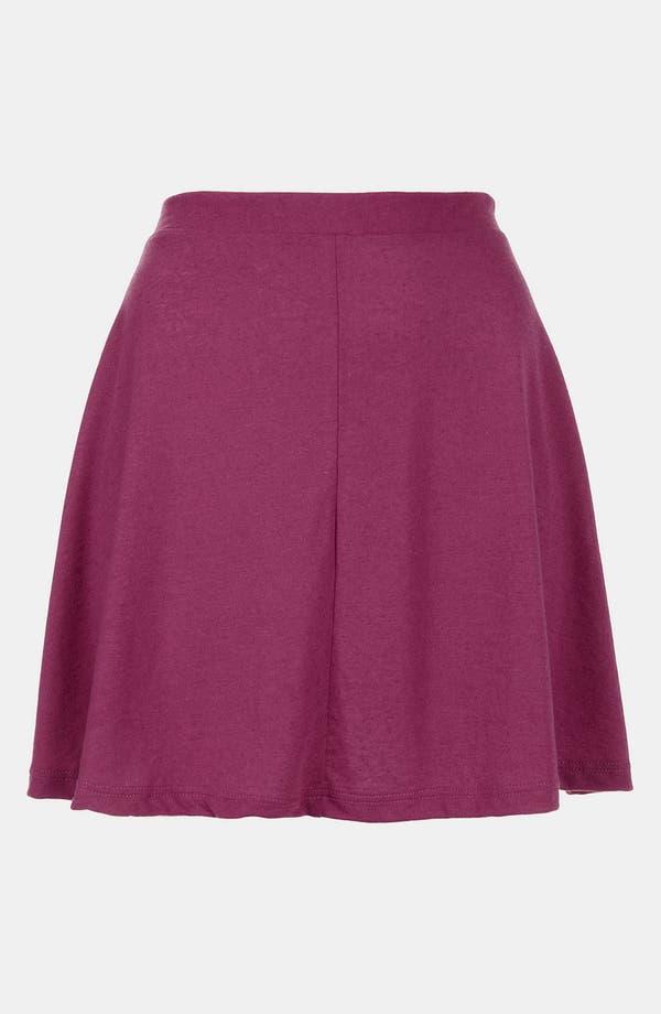 Main Image - Topshop 'Andie' Skater Skirt (Petite)