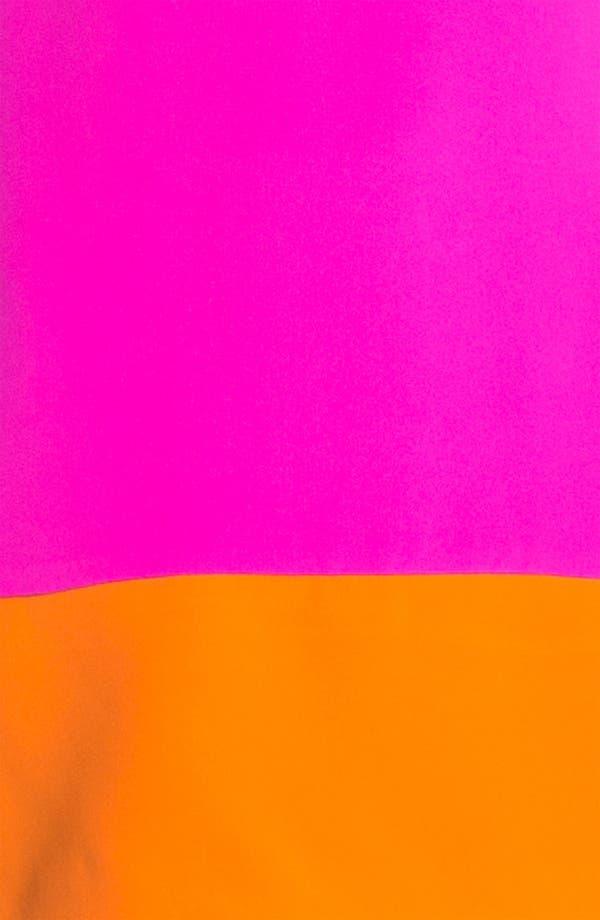 Alternate Image 3  - Jay Godfrey 'Aspin' Colorblock Silk Shift Dress