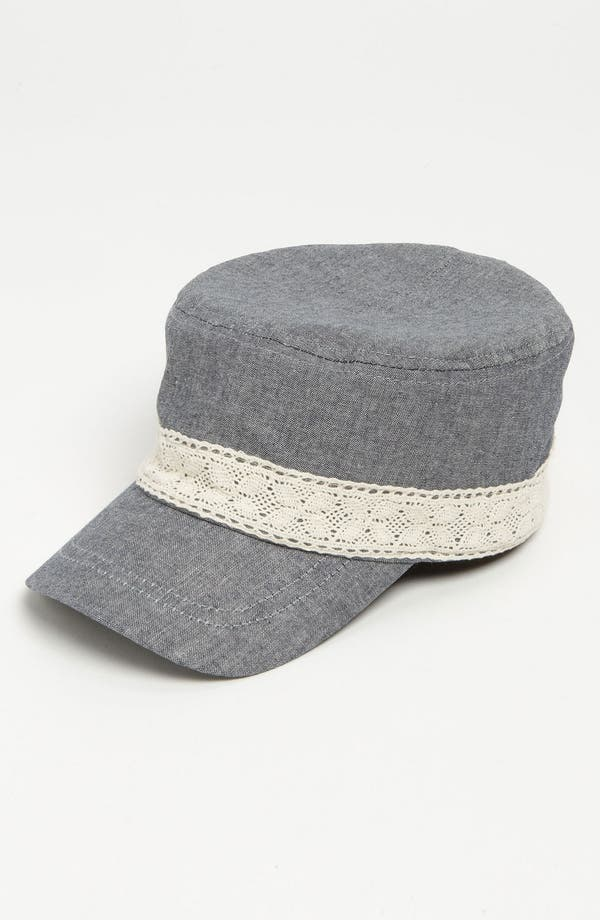 Alternate Image 1 Selected - The Accessory Collective Chambray Hat (Girls)