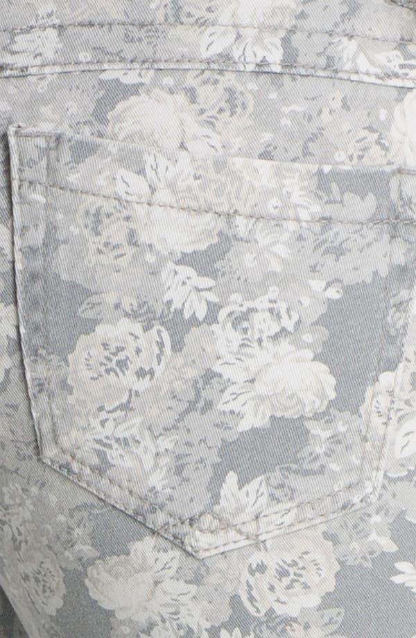 Alternate Image 3  - Wit & Wisdom Floral Print Skinny Jeans (Nordstrom Exclusive)