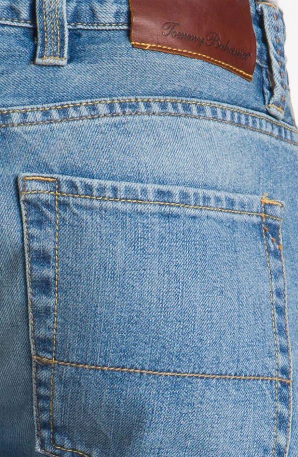 Alternate Image 4  - Tommy Bahama Denim 'Steve Standard Fit' Jeans (Storm)