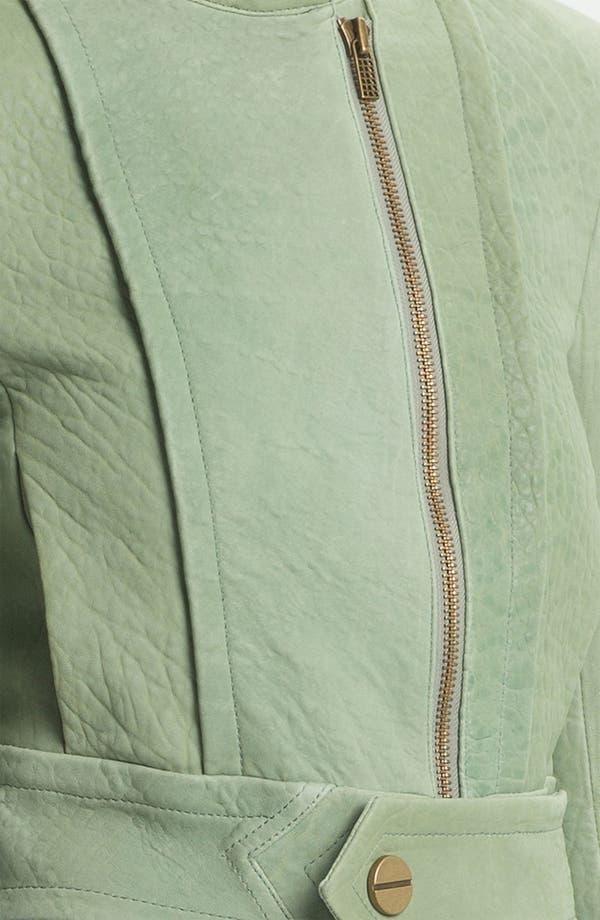 Alternate Image 4  - Kelly Wearstler 'Jasper' Lambskin Leather Jacket