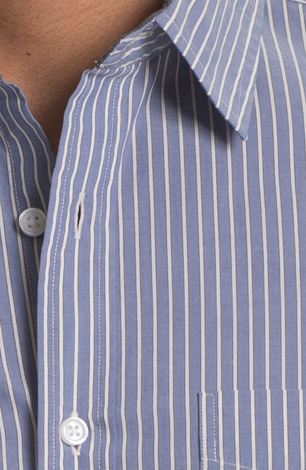 Alternate Image 3  - Wallin & Bros. Trim Fit Poplin Sport Shirt