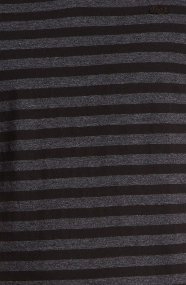 Alternate Image 3  - Lacoste Stripe V-Neck T-Shirt
