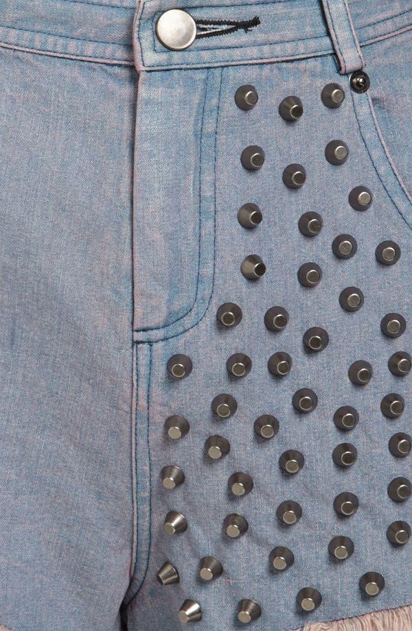 Alternate Image 4  - ASTR Studded Shorts