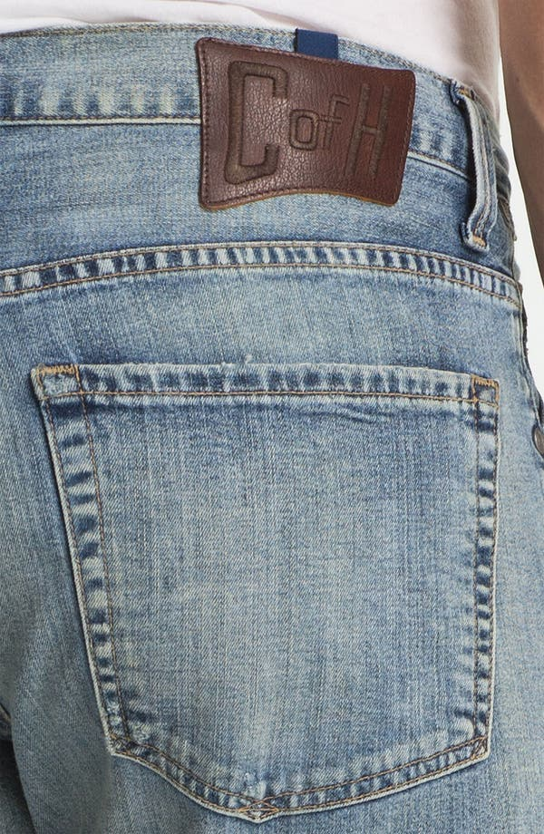 Alternate Image 4  - Citizens of Humanity 'Sid Selvage' Straight Leg Jeans (Lukas Wash)