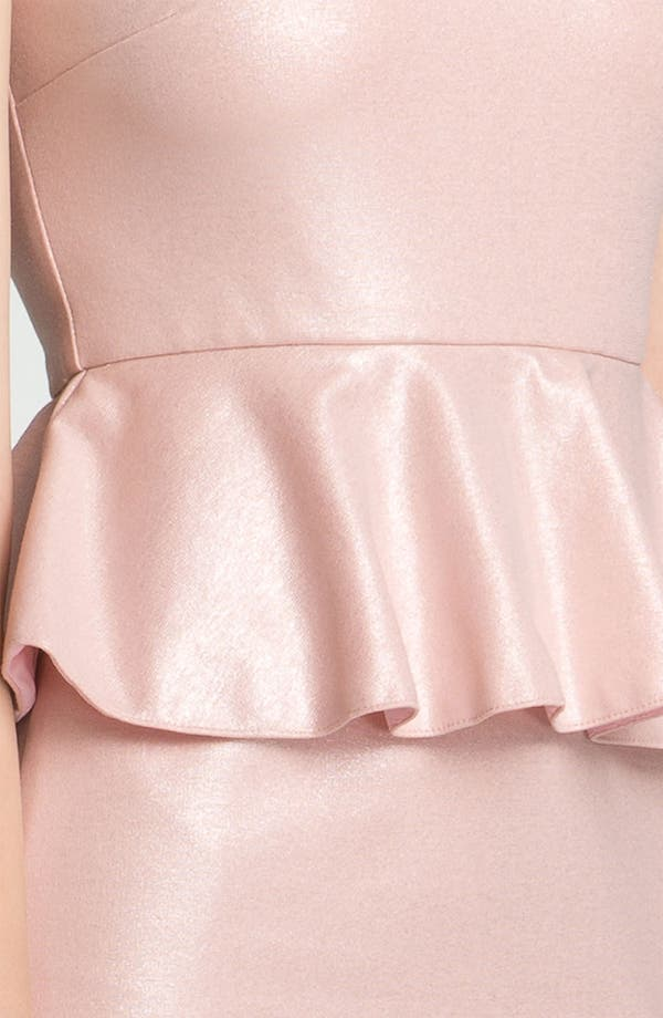 Alternate Image 3  - Alice + Olivia Peplum Dress