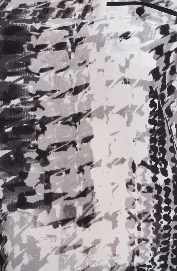 Alternate Image 3  - Matty M One Pocket Silk Tee (Online Only)
