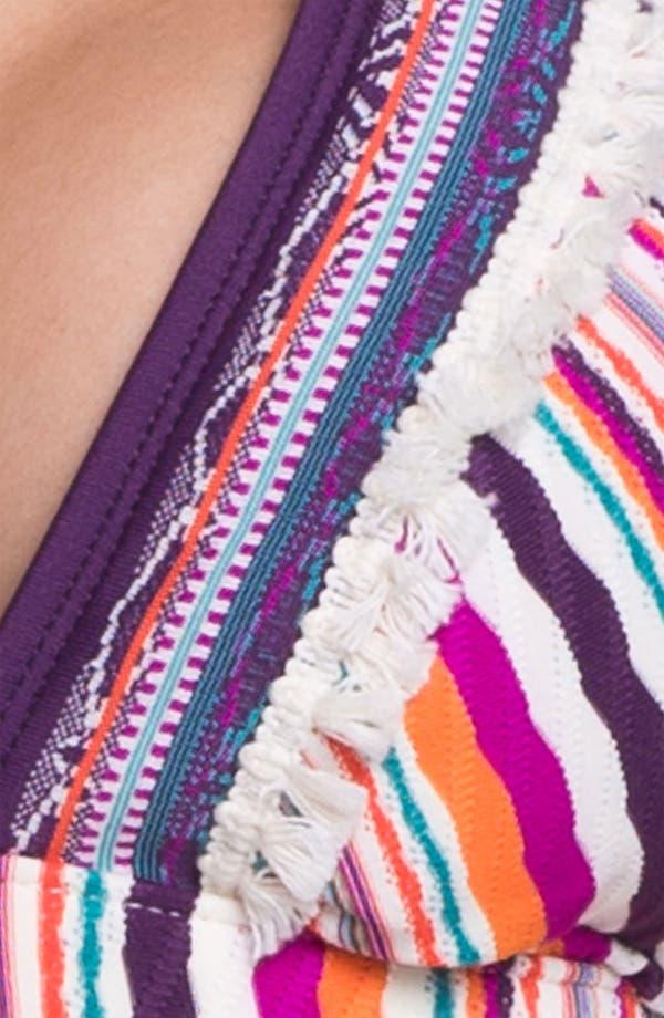 Alternate Image 5  - Lucky Brand Swimwear 'Mumbai' Halter Bikini Top (D/DD-Cup)