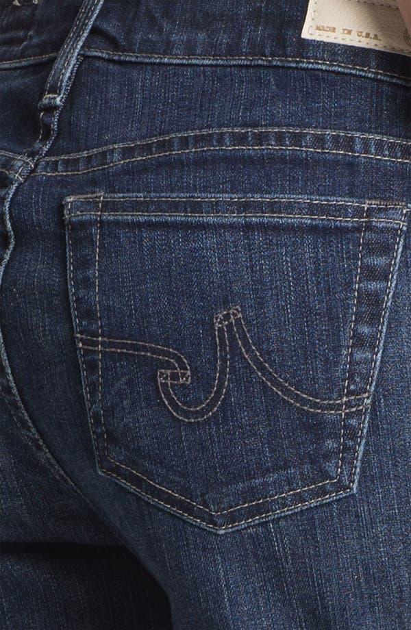 Alternate Image 3  - AG 'Hailey' Cuff Denim Shorts (Four Year Brisk Blue)