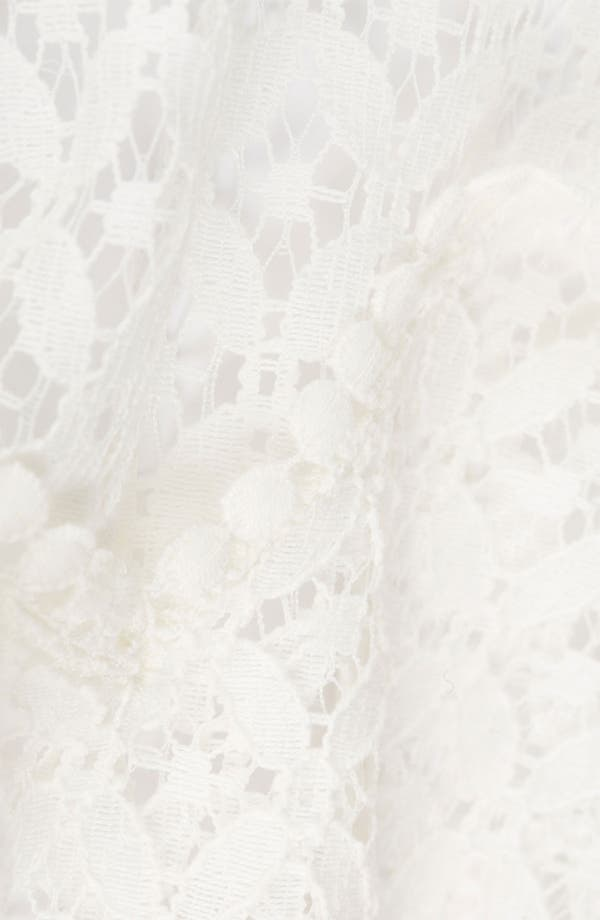 Alternate Image 3  - Topshop 'Lizzie' Lace Cover-Up
