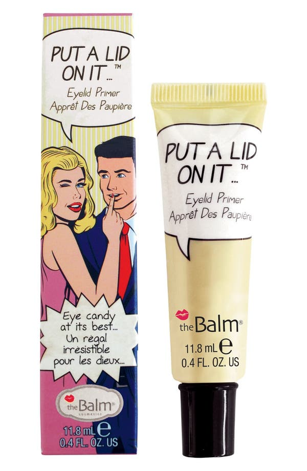 Alternate Image 1 Selected - theBalm® 'Put A Lid On It®' Primer