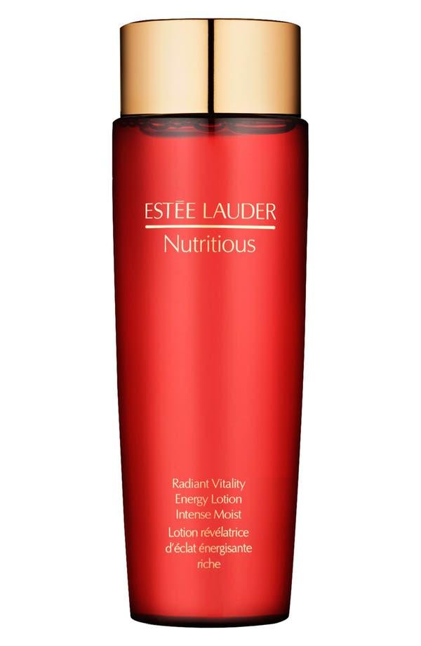 Alternate Image 1 Selected - Estée Lauder 'Nutritious' Energy Lotion