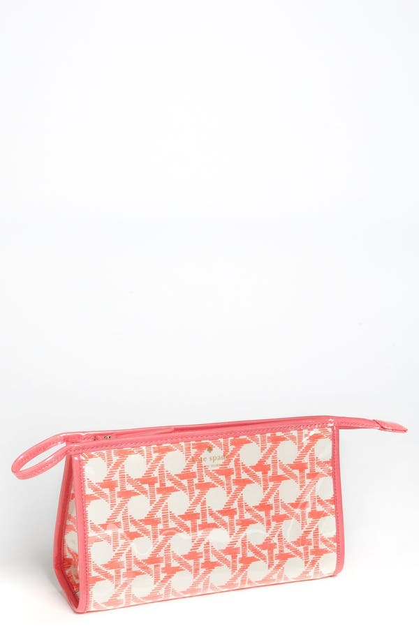 Main Image - kate spade new york 'cottage house - medium heddy' cosmetics case