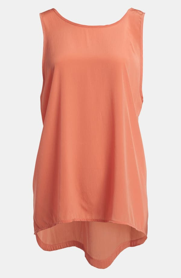 Alternate Image 1 Selected - Leith Back Cutout High/Low A-Line Top
