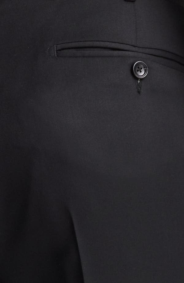 Alternate Image 4  - Z Zegna Flat Front Trousers