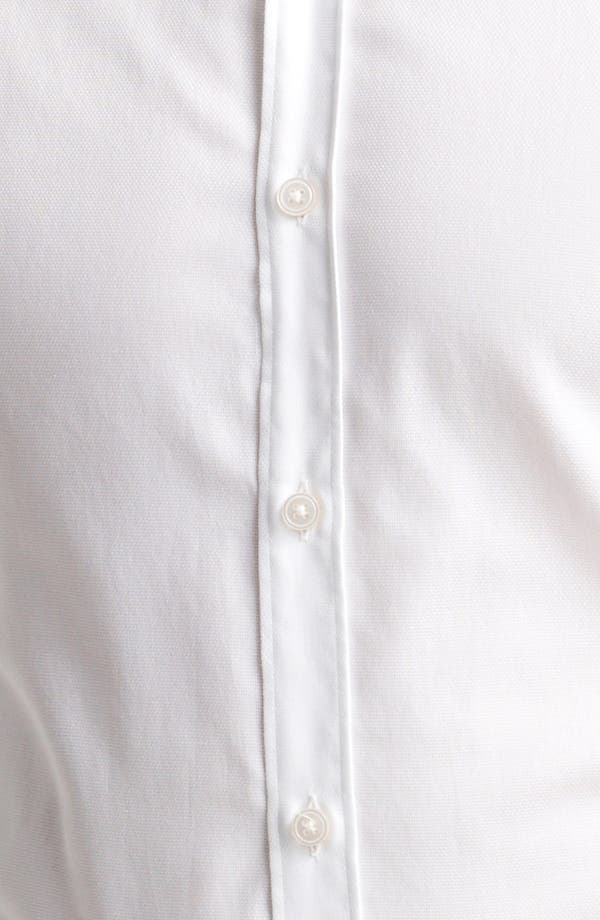 Alternate Image 3  - Z Zegna Micro Pinpoint Cotton Dress Shirt