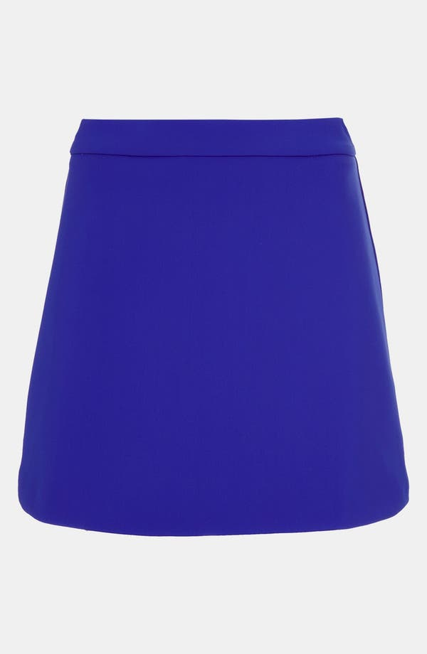 Alternate Image 1 Selected - Topshop High Waist A-Line Skirt