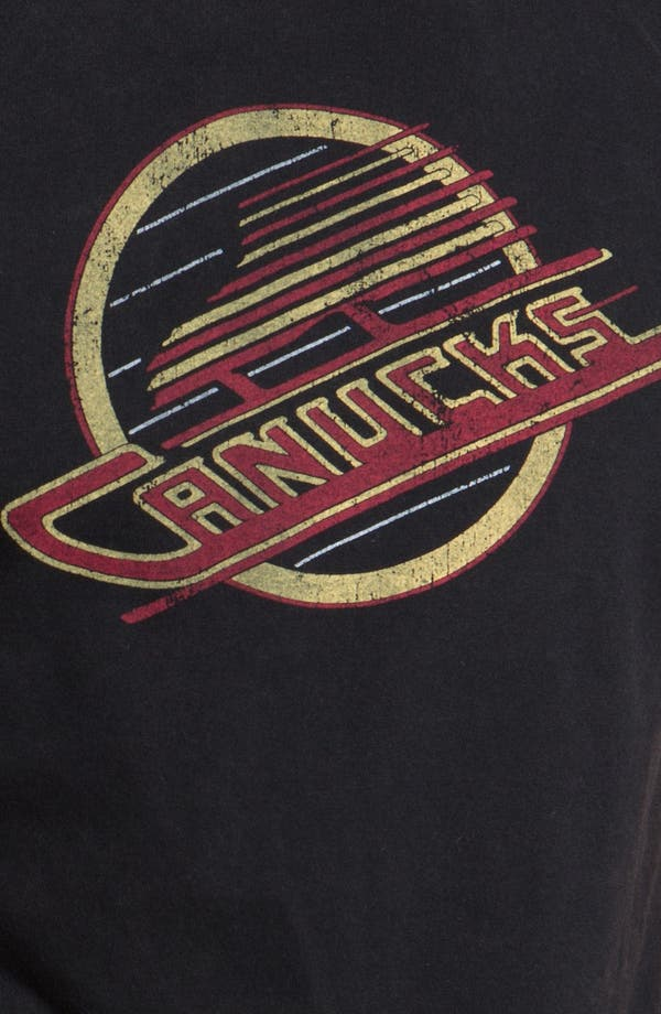 Alternate Image 3  - Red Jacket 'Vancouver Canucks - Remote Control' T-Shirt