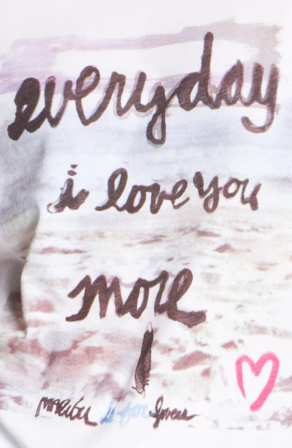 Alternate Image 3  - Malibu Native 'Everyday I Love You More' Tee (Juniors)