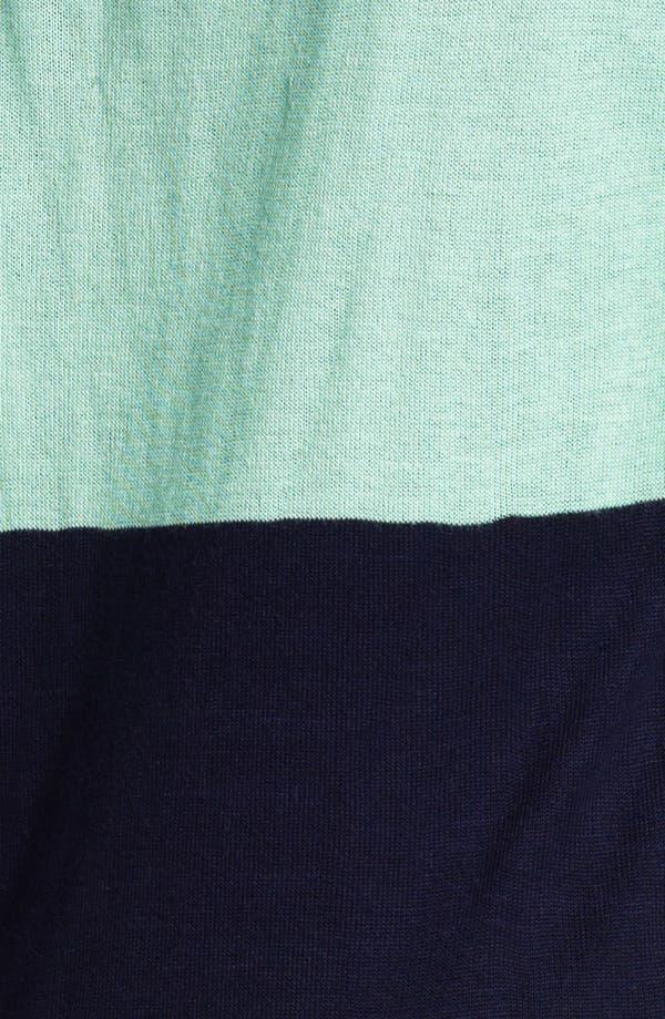 Alternate Image 3  - LAmade Colorblock Split Neck Sweater