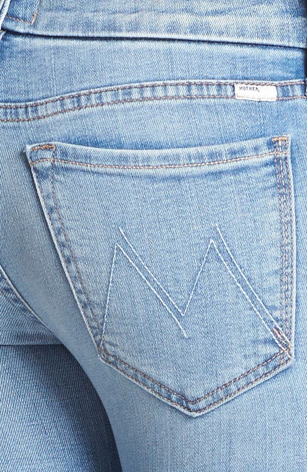 Alternate Image 3  - MOTHER 'The Looker' Ankle Zip Skinny Jeans (Light Kitty)