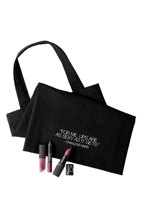 Alternate Image 3  - NARS 'Baiser de Feu' Lip Bag (Nordstrom Exclusive)