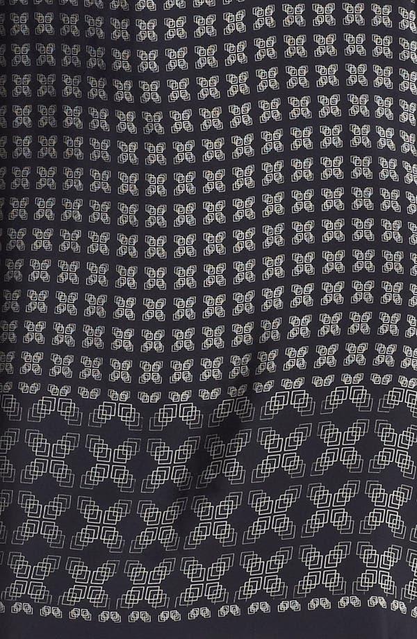 Alternate Image 3  - Vince 'Border' Print Silk Shirtdress
