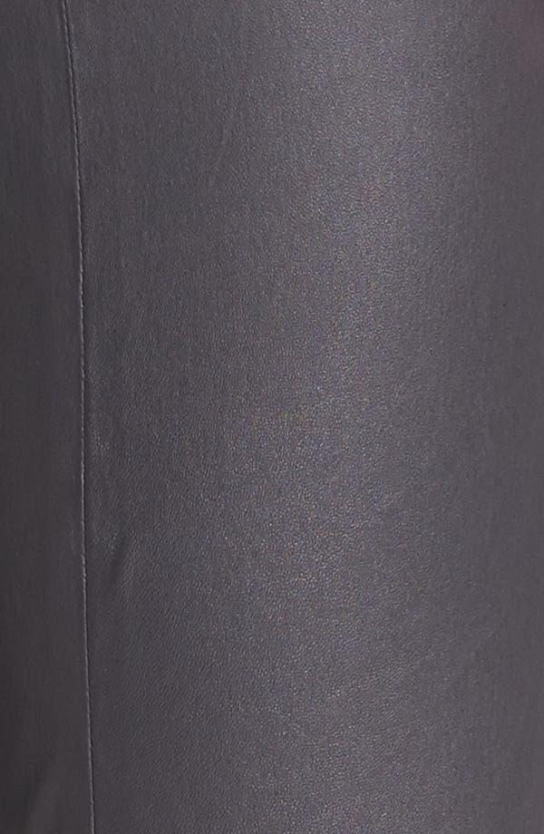 Alternate Image 3  - Vince Crop Bootcut Leather Pants