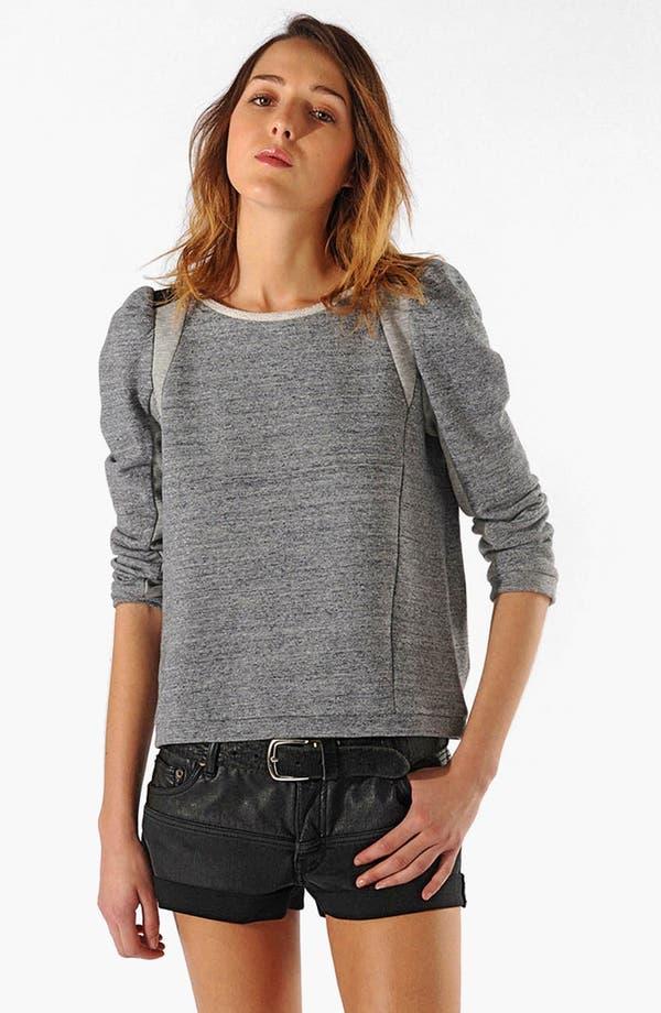 Alternate Image 1 Selected - maje 'Cecilia' Sweatshirt