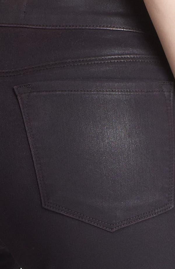 Alternate Image 3  - J Brand Coated Super Skinny Jeans (Coated Opalite)