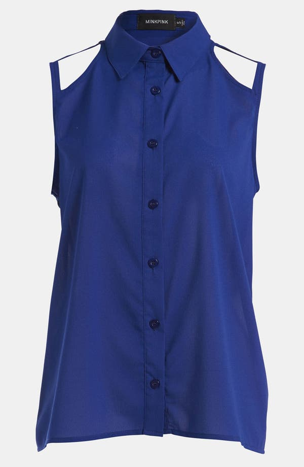 Alternate Image 1 Selected - MINKPINK 'Mischief' Sleeveless Shirt