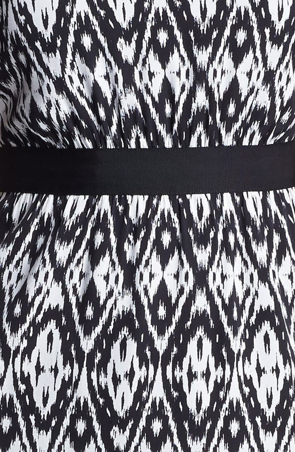 Alternate Image 3  - Classiques Entier® Print Stretch Sheath Silk Dress