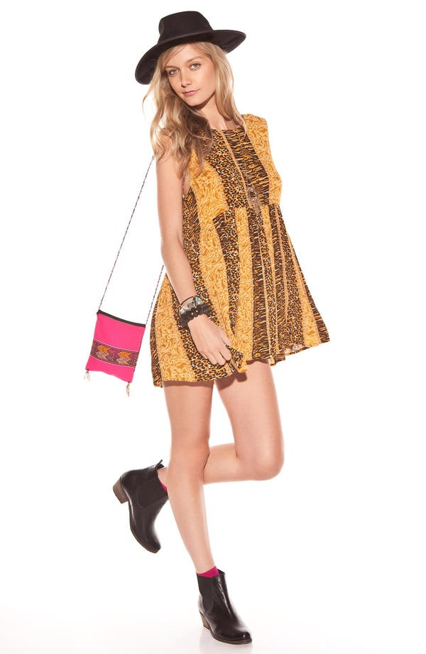 Main Image - MINKPINK 'Fair Game' Sheer Babydoll Dress
