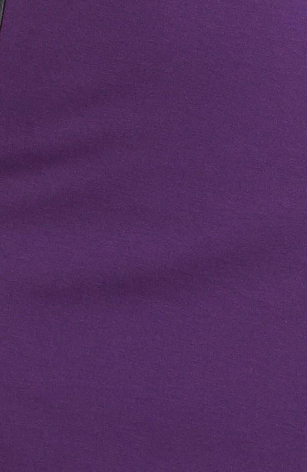 Alternate Image 3  - Halogen® Faux Leather Trim Sheath Dress (Online Only)