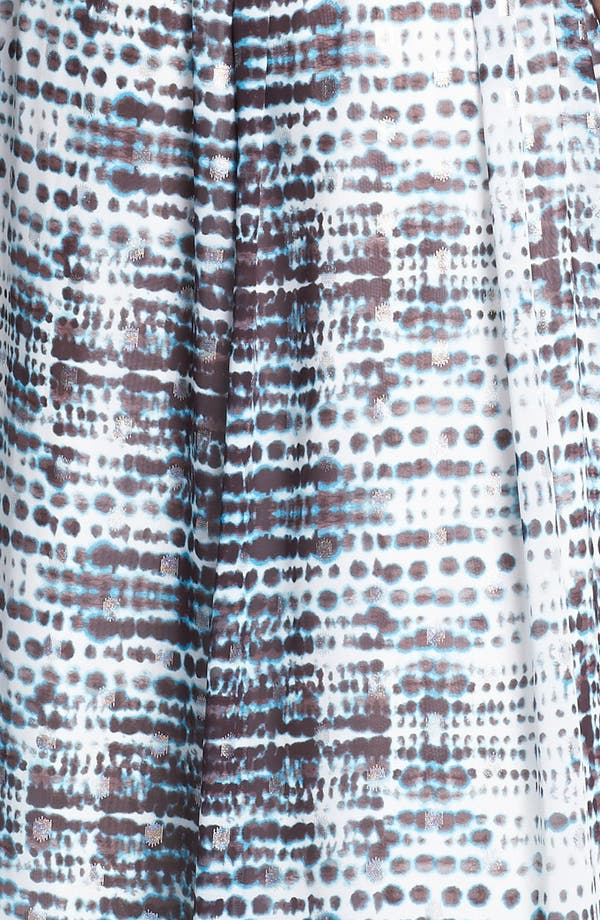 Alternate Image 3  - Calvin Klein Strapless Print Gown