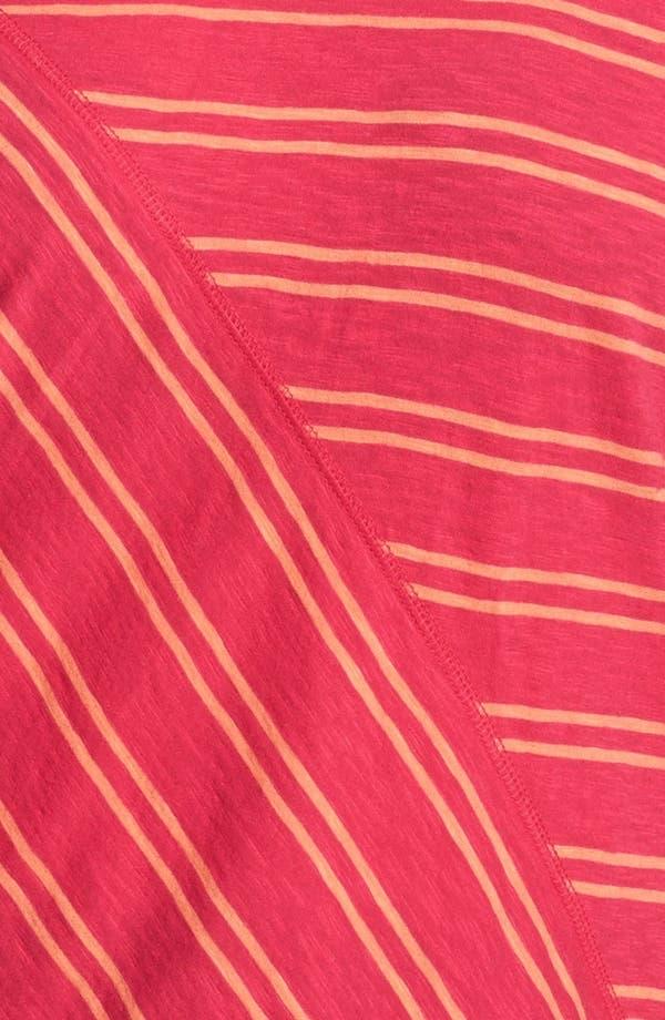 Alternate Image 3  - Sejour Stripe Slubbed Tee (Plus Size)