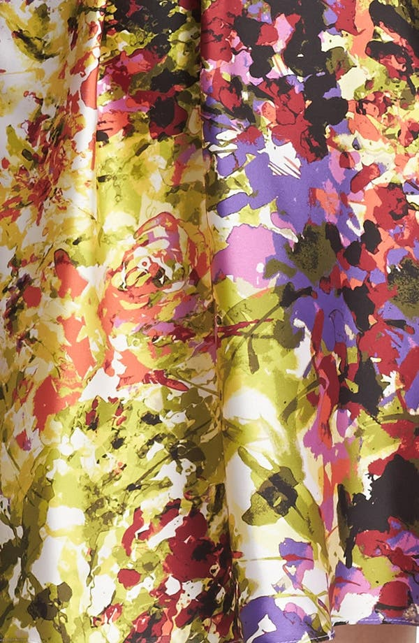 Alternate Image 3  - Donna Ricco Print Fit & Flare Dress